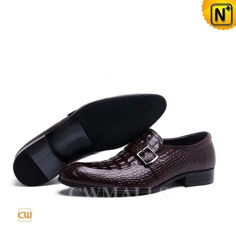 Handmade Dress Shoes - buckle leather loafers cw716204