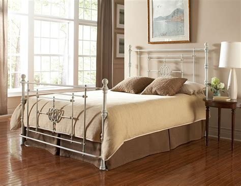 Distressed White Bed Frame Lafayette Shabby Chic Four Poster Distressed Finish Metal Bed Frame White B11145 By
