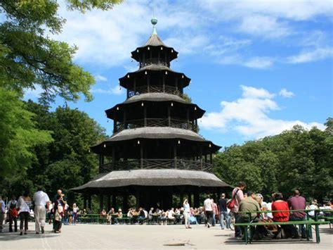 Chinesischer Turm Englischer Garten by M 252 Nchen Chinesischer Turm