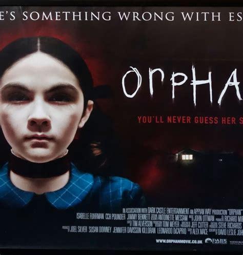 orphan film condition orphan original uk quad cinema poster 2009