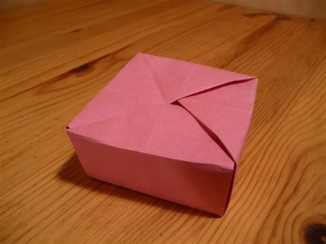 Origami Box With Lid - origami nut 187 box lid