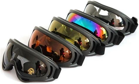 Kacamata Biker Kacamata Ski Kacamata Air Soft Goggles kacamata goggles ski brown jakartanotebook
