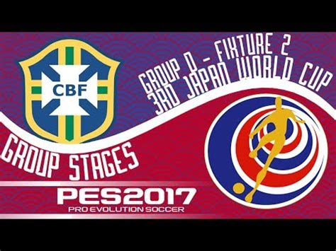 brazil vs costa rica 3rd japan world cup fixture 2