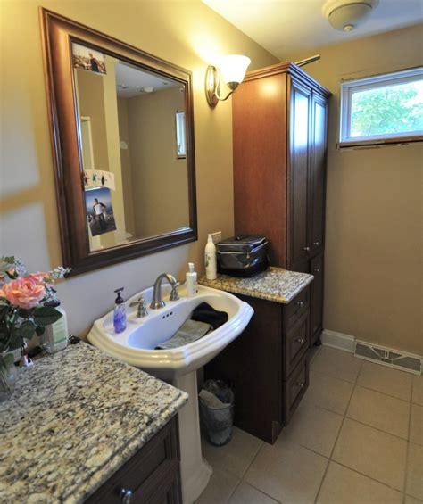 Naperville House Bathroom bathroom in naperville