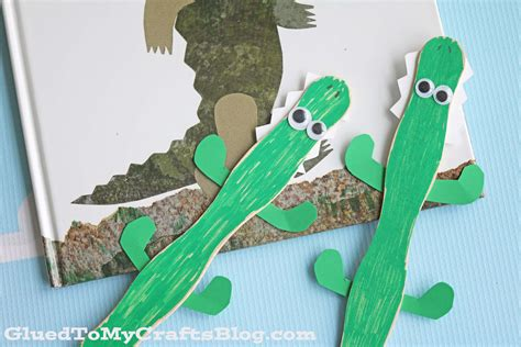 crocodile craft for popsicle stick crocodile kid craft glued to my crafts