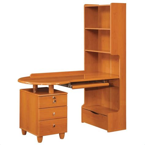 cherry wood kids desk global furniture usa emily kids wood desk in cherry