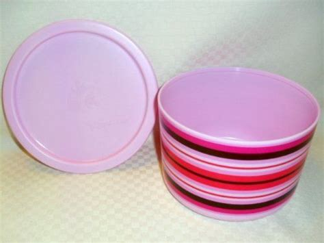 Tupperware Deligt tupperware pink delight canister set of 2 by tupperware 13 80 virtually air tight