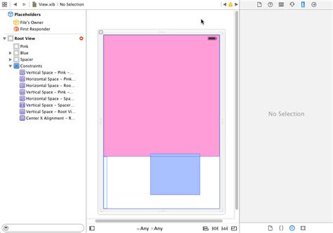 update layout constraints programmatically ios auto layout centering view in remaining space