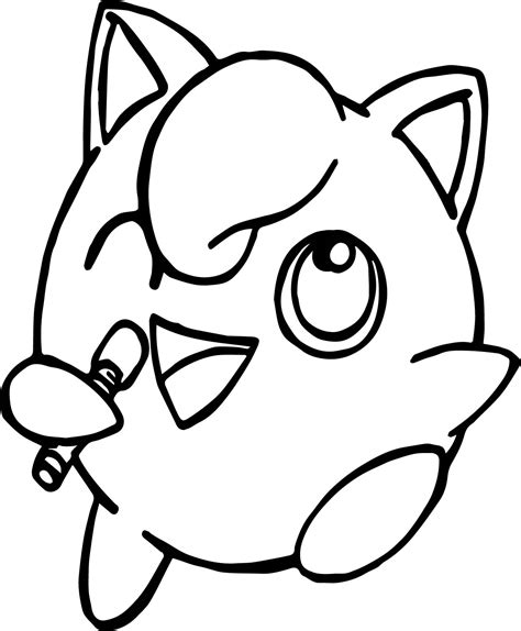 jigglypuff song coloring page wecoloringpage