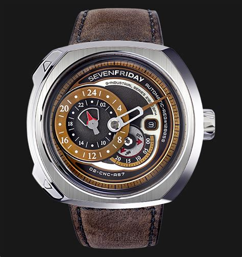 Jam Tangan Pria Keren Rolex Automatic New Series sevenfriday q2 01 q series automatic miyota 8219 brown