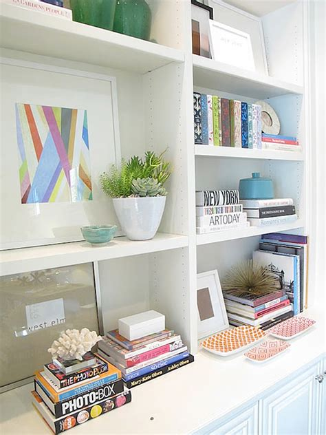 how to style bookshelves the budget decorator