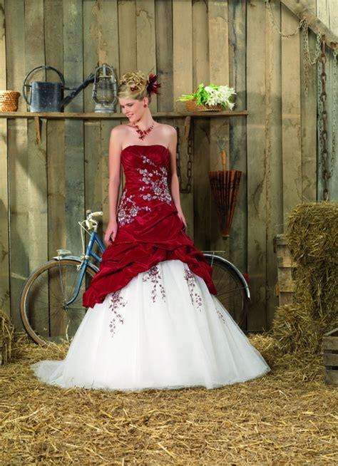 imagenes bodas en blanco y rojo vestidos de novia en colores rojo y blanco 2013 de todo