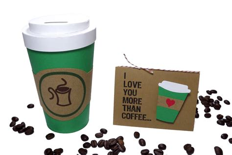 Coffee Cup Gift Card Holder - coffee cup gift card holder pazzles craft room