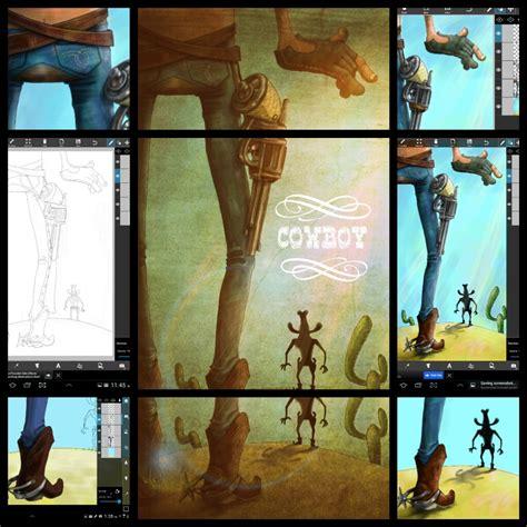 picsart all tutorial picsart user tutorials from the cowboy drawing challenge