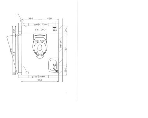 Afmeting Toilet Afvoer by Badkamer En Toilet Nieuwbouw Werkspot