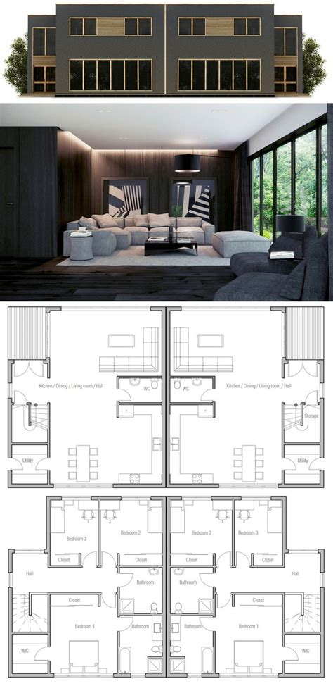 fourplex house plans 92 best duplex fourplex plans images on pinterest home
