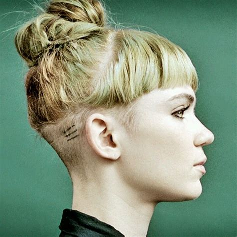 growing out womens undercut shaved side undercut on grimes undercuts shaved
