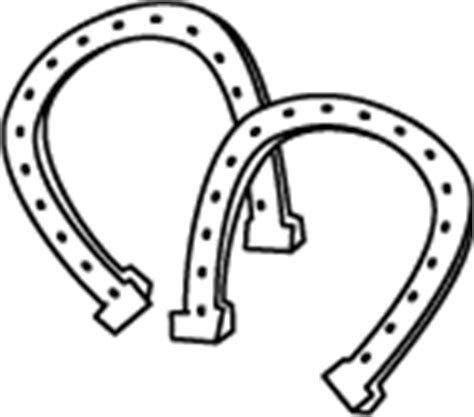 coloring pages of horse shoes printable horseshoes coloring page