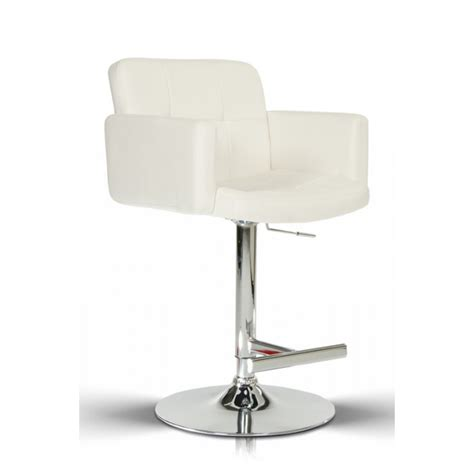 white leather bar stools contemporary modrest lindy contemporary white leatherette bar stool