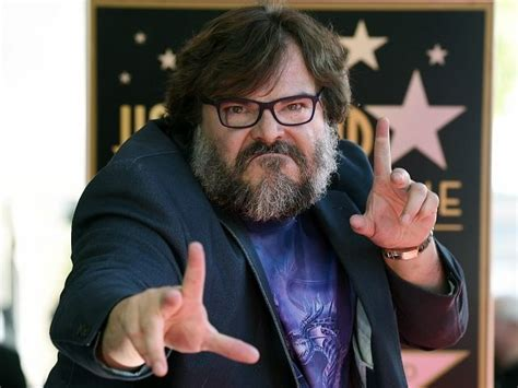 jack black hollywood star speech watch actor jack black calls trump a piece of sh t