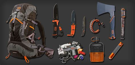 Knife Storage Ideas by Bear Grylls Mountain Pack
