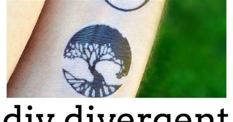 divergent tattoo process how to make temporary tattoos for divergent divergent