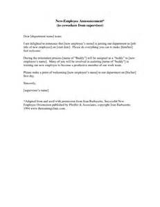 employee termination announcement template letter to announce employee departure to clients sle