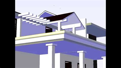 3d house animation youtube 3d house animation created using autocad 2012 youtube