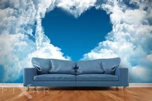 Clouds Wall Mural liebe in den wolken fototapeten himmel fototapeten