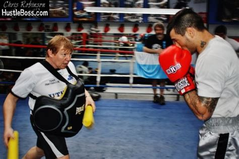 exclusive photos: lucas matthysse focused and grinding