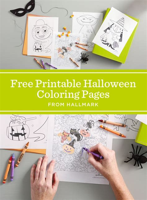 hallmark coloring pages halloween 139 best images about coloring pages on pinterest dovers