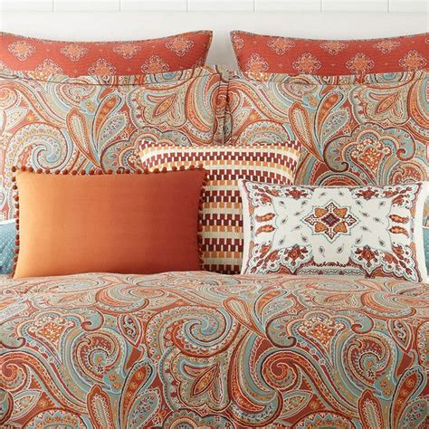 jcpenney home morocco  pc comforter set