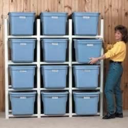 woodwork pvc storage shelf plans pdf plans