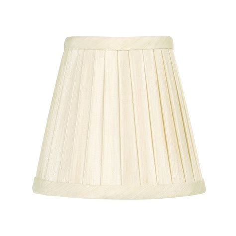 Lowes Chandelier Shades Shop Livex Lighting 4 5 In X 5 In White Fabric Empire L Shade At Lowes