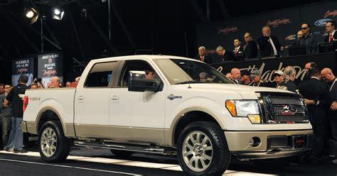 Bush Bobine Leno Nissan auctions george w bush s 2009 ford f 150 fizzles with 300 000 bid at barrett jackson world