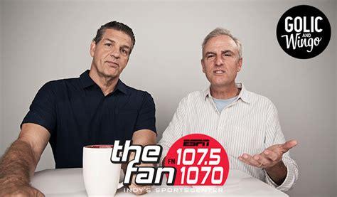 1070 the fan podcast golic wingo radio indiana
