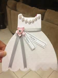 baptism christening gown dress cutout invitation inquire
