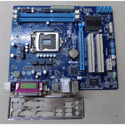 Mainboard 1155 Sockel by Mainboard Gigabyte Ga H61m S2pv Sockel 1155 Ddr3 Sata Usb Matx Blen