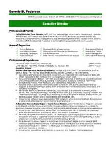 Non Profit Executive Director Resume Gallery For Gt Non Profit Executive Summary Sample