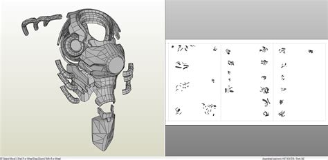 Papercraft Files - overwatch reinhardt armor foam pepakura eu