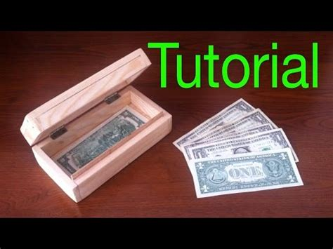 Bedak Make No 4 how to make a wood box simple safe for money
