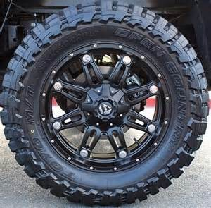 Truck Tires And Rims 20 Quot Wheels Rims Fuel Road Hostage W 33x12 50x20 Toyo