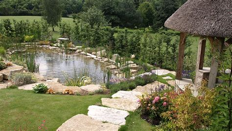 Landscaping Ideas Large Gardens Rock Garden Waterscape Berkshire Landscape Garden