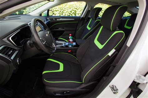 2014 ford fusion energi coca cola interior photo 9