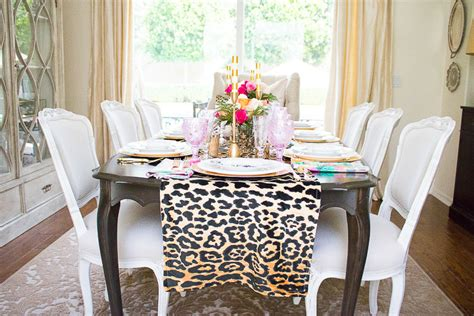 how to make a table runner how to make a leopard table runner by randi garrett design