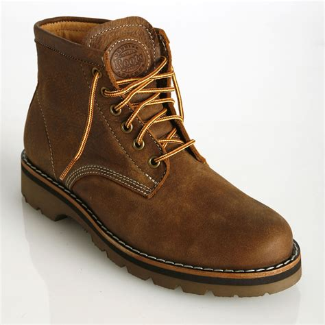 mens roots boots s tuffer boots in vintage tribe leather mens shoes