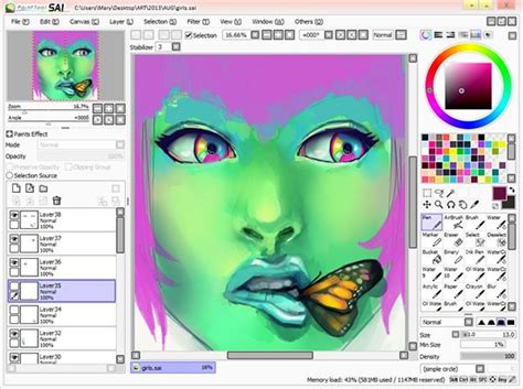 paint tool sai picture quality paint tool sai file extensions