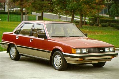 1983 toyota camry information