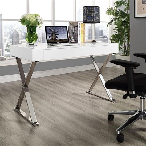 white and chrome desk 64 best eurway office home business images on