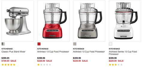 Kitchenaid Food Processor The Bay Hudson S Bay Canada Flash Sale Save 200 On